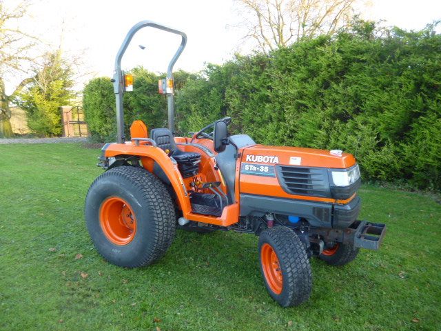 SOLD!!! KUBOTA STA 35 COMPACT TRACTOR DIESEL 4X4 T