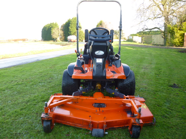 SOLD!!! KUBOTA F3890 OUTFRONT MOWER 4X4 DIESEL