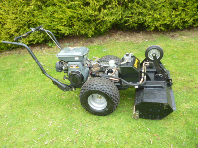 SOLD!!! ALLETT VICEROY WALK BEHIND MOWER
