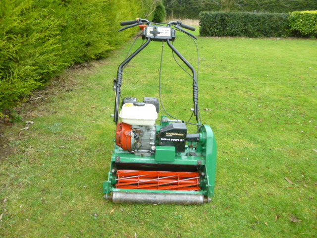 RANSOMES SUPER BOWL 51 WALK BEHIND MOWER