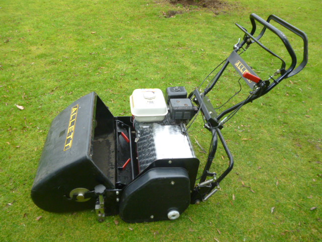 SOLD!!! ALLETT C20 BOWLING GREEN WALK BEHIND MOWER