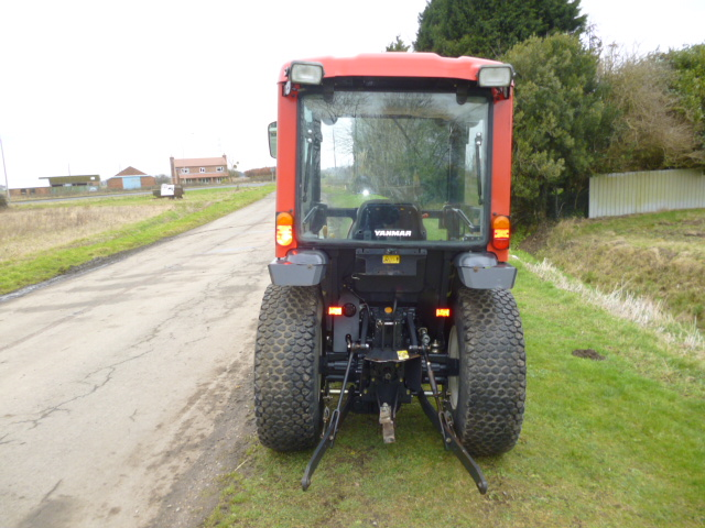 SOLD!!! YANMAR EF230H COMPACT TRACTOR GLASS CAB