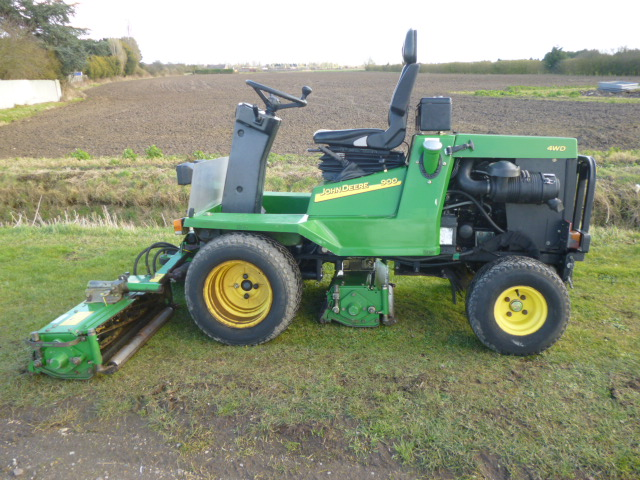 SOLD!!! JOHN DEERE 900 ROBERINE RIDE ON MOWER TRIP