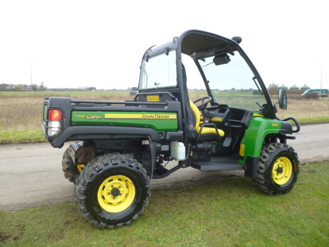 john deere gator 855d utility buggy for sale fnr machinery. Black Bedroom Furniture Sets. Home Design Ideas