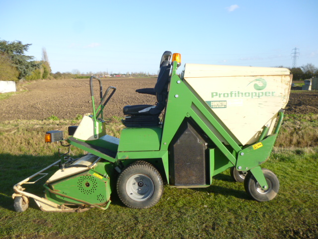 AMAZONE PROFIHOPPER FLAIL MOWER