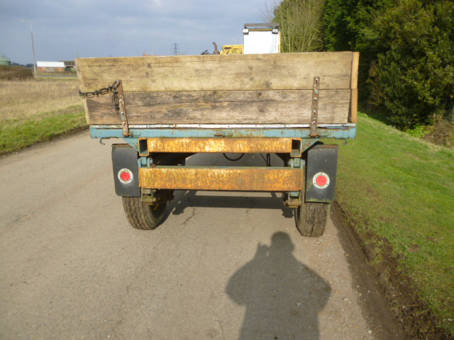 SOLD!!! FARM TRAILER