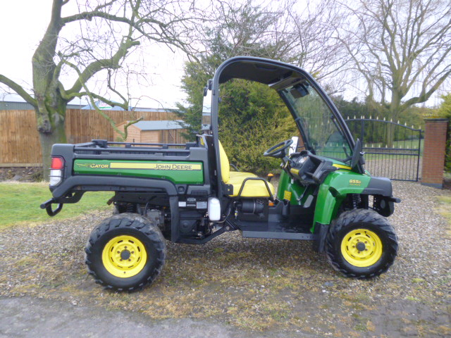 john deere gator xuv 855d 4x4 diesel utility for sale fnr. Black Bedroom Furniture Sets. Home Design Ideas