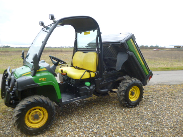 john deere gator 855d utility diesel 4x4 buggy for sale. Black Bedroom Furniture Sets. Home Design Ideas