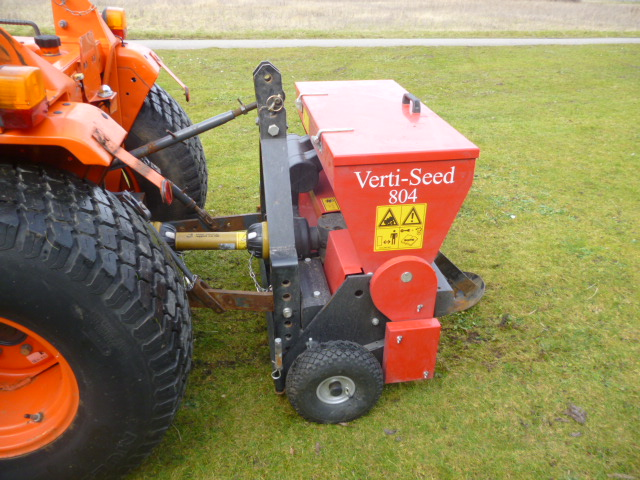 SOLD!!! REDEXIM VERTI SEED 804 COMPACT TRACTOR FOO