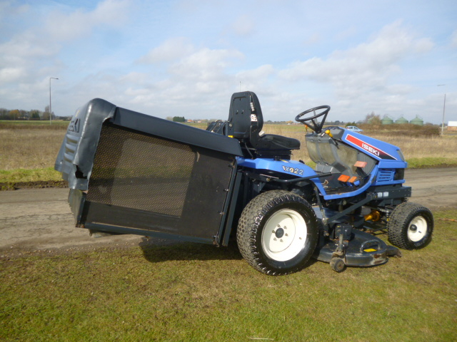 SOLD!!! ISEKI SXG22 RIDE ON MOWER LOW COLLECTOR DI
