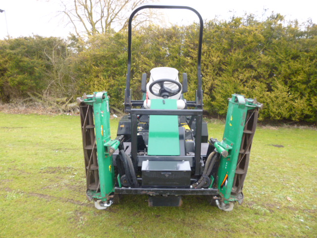 SOLD!!! RANSOMES HIGHWAY 2130 RIDE ON DIESEL MOWER