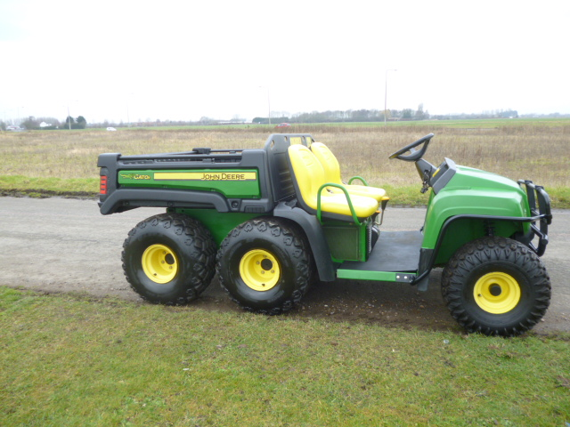 sold john deere gator 6x4 t h gator year 2009 for sale. Black Bedroom Furniture Sets. Home Design Ideas