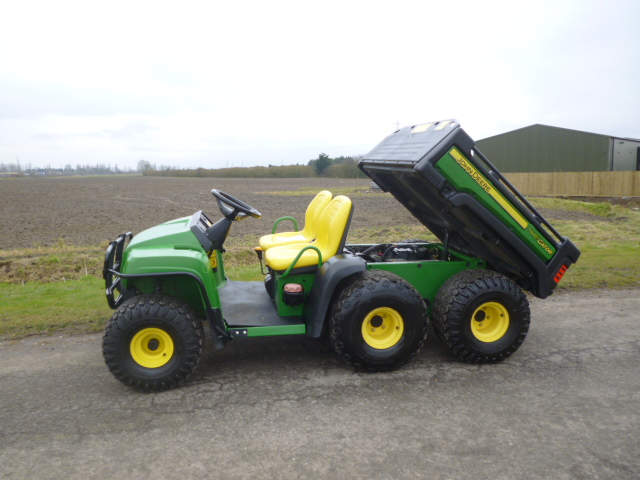 sold john deere gator 6x4 t h gator year 2009 for sale fnr machinery. Black Bedroom Furniture Sets. Home Design Ideas