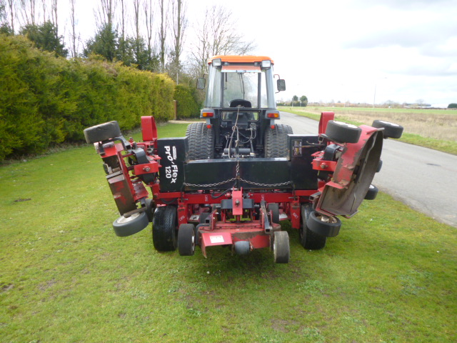 SOLD!!! PROGRESSIVE PRO FLEX 120 ROTARY MOWER