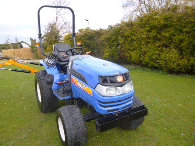 SOLD!!! ISEKI TH 4335 COMPACT TRACTOR