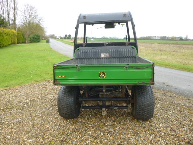 SOLD!!! JOHN DEERE GATOR HPX DIESEL 4WD