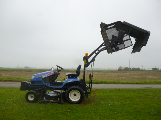 SOLD!!! ISEKI SXG22H RIDE ON MOWER HIGH TIP COLLEC