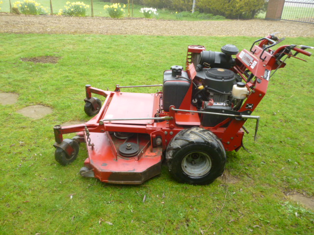 SOLD!!! FERRIS WALK BEHIND PETROL MOWER
