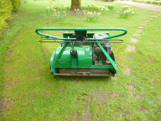 SOLD!!! RANSOMES 30 MASTIFF MOWER COLLECTION BOX