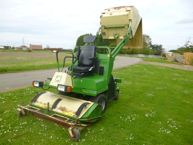 SOLD!!! AMAZONE PH125 C/W GRASS COMPACTER