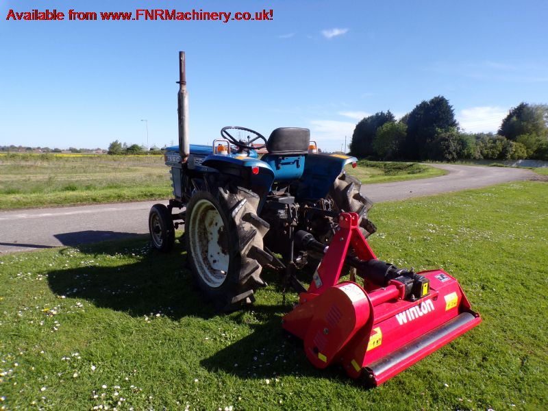 SOLD!!! ISEKI TS1610 COMPACT TRACTOR WITH WINTON F