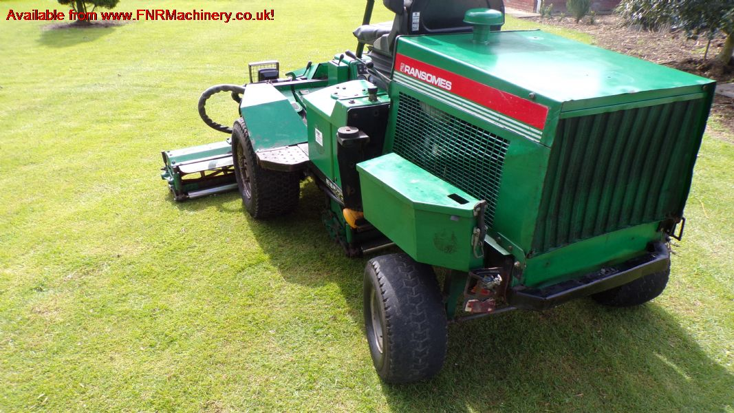 SOLD!!! RANSOMES HIGHWAY 213 NEW ROLLER