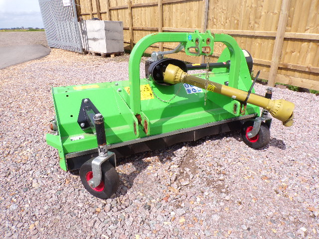 SOLD!!! RYETEC P1600 FLAIL COMPACT TRACTOR LONG GR