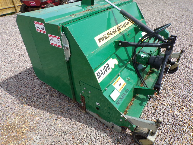 SOLD!!! MAJOR FLAIL COLLECTOR TRACTOR MOUNTED LARG