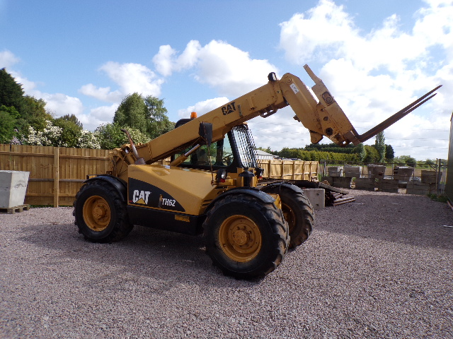 SOLD!!! CATERPILLAR TH62 TELEHANDER forklift