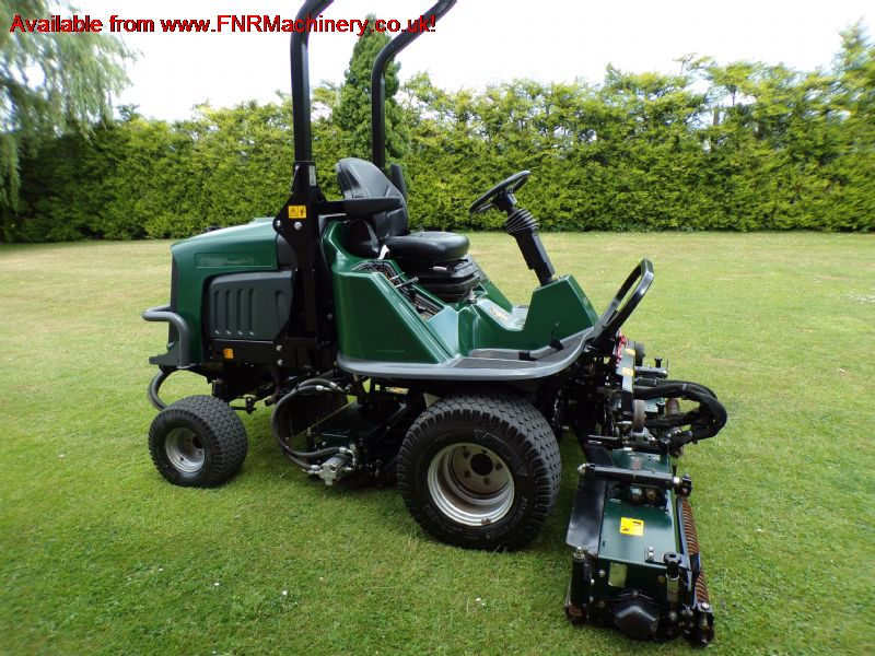 SOLD!!! HAYTER LT324 TRIPLE GANG RIDE ON 4X4 MOWER
