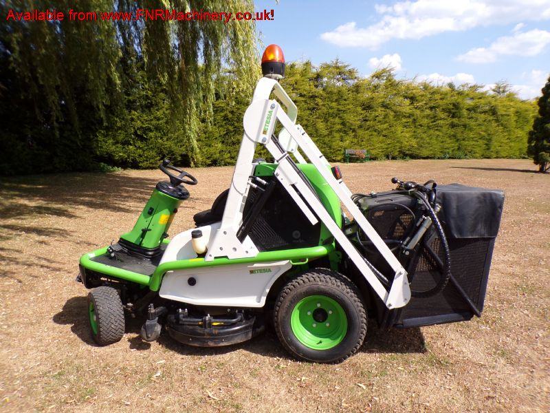 sold ! ETESIA 124D HIGH TIP MOWER