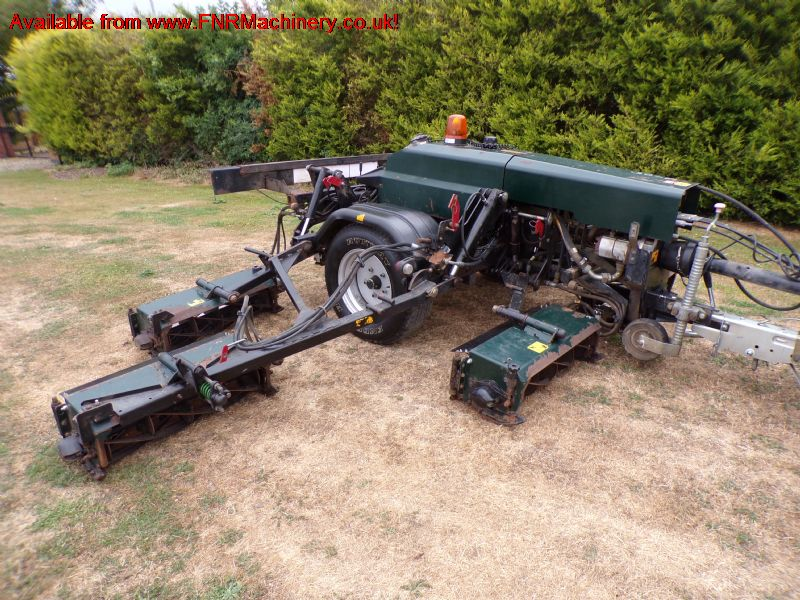 HAYTER TM749 7 GANG TRAILED CYLINDER MOWER