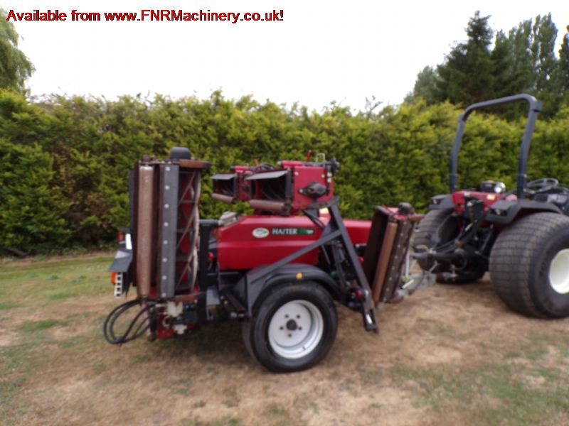 SOLD!!! HAYTER TM749 CYLINDER 7 GANG TRAILED MOWER