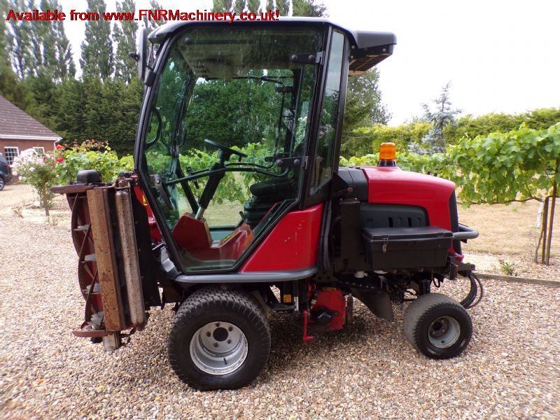 SOLD!!! HAYTER LT324 4X4 TRIPLE GANG RIDE ON MOWER