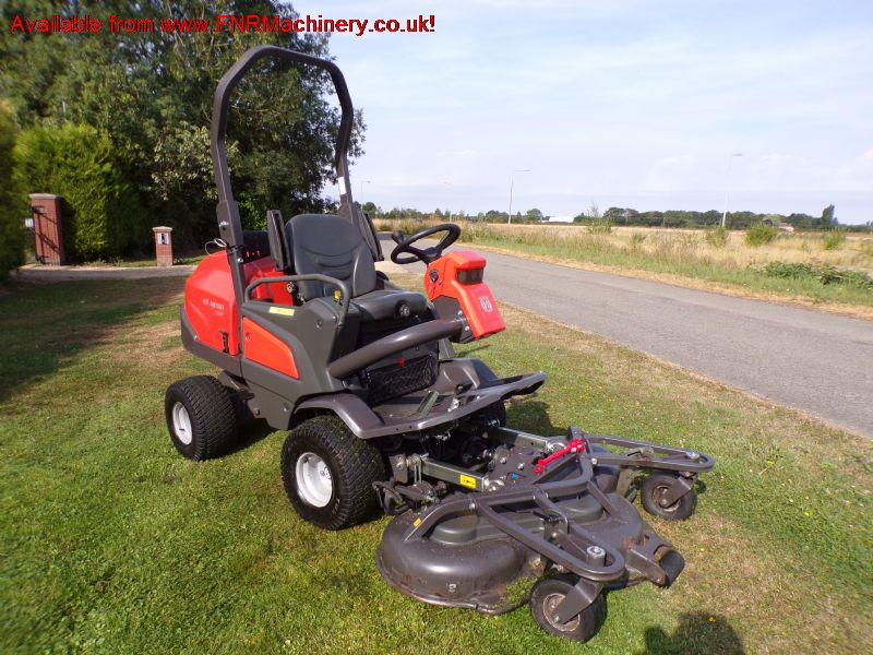 SOLD!!! HUSQVARNA P520D RIDER OUTFRONT MOWER