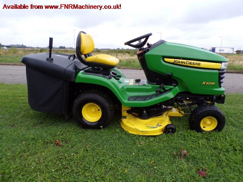 john deere x305r lawn tractor low tip coll for sale fnr. Black Bedroom Furniture Sets. Home Design Ideas