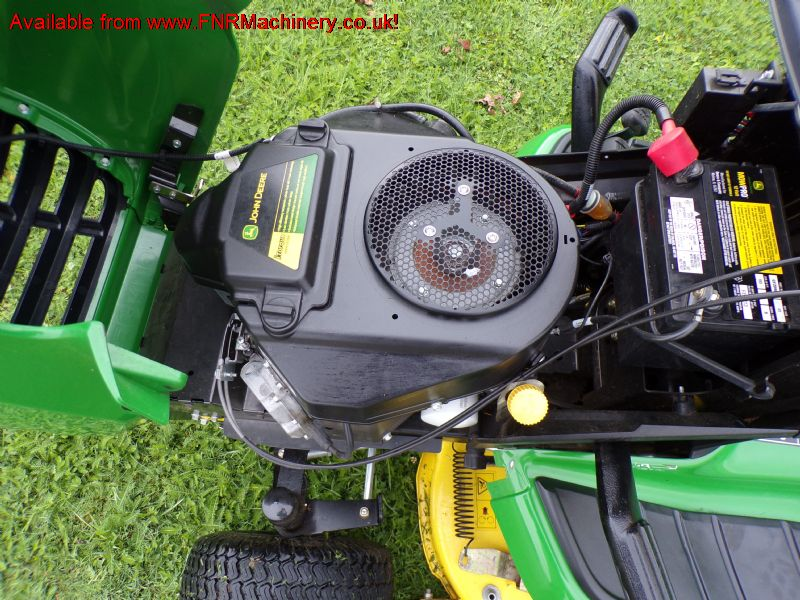 sold ! JOHN DEERE X305R LAWN TRACTOR LOW TIP COLLE
