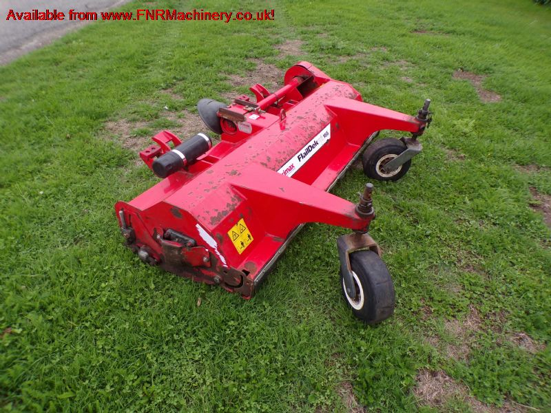 SOLD!!! TRIMAX FLAILDEK S2 155 FLAIL OUTFRONT MOWE