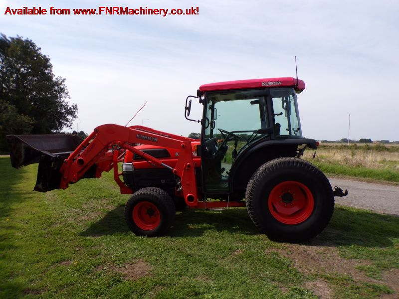 SOLD!!! KUBOTA L5030 COMPACT TRACTOR LOADER 4 IN 1