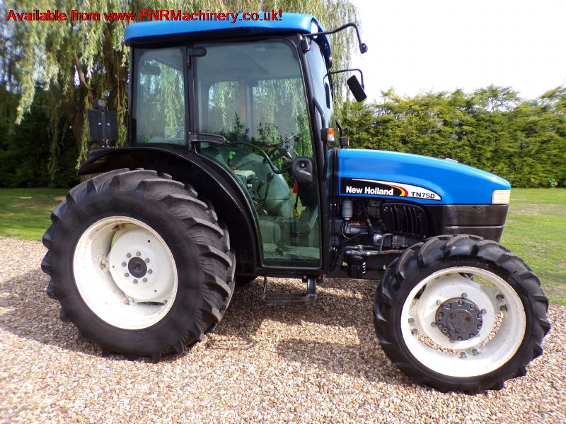 SOLD!!! NEW HOLLAND TN75D TRACTOR