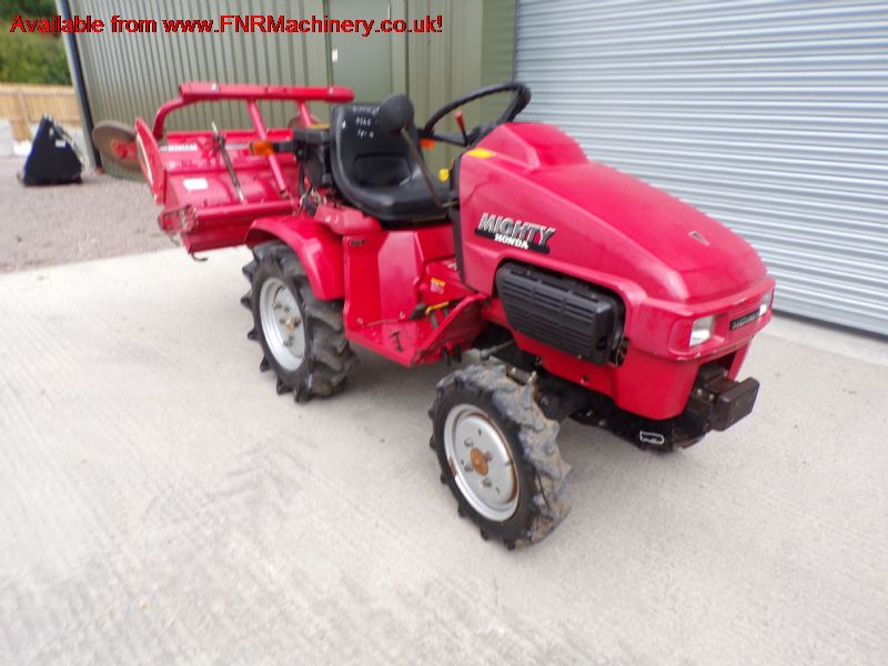 SOLD!!! HONDA MIGHTY 130D TRACTOR AND ROTAVATOR
