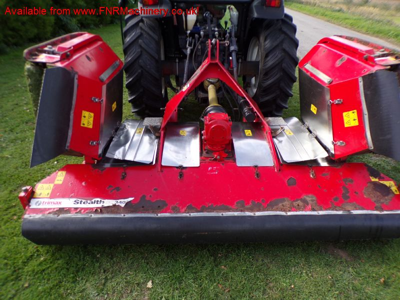TRIMAX STEALTH S2 340 FINISHING MOWER
