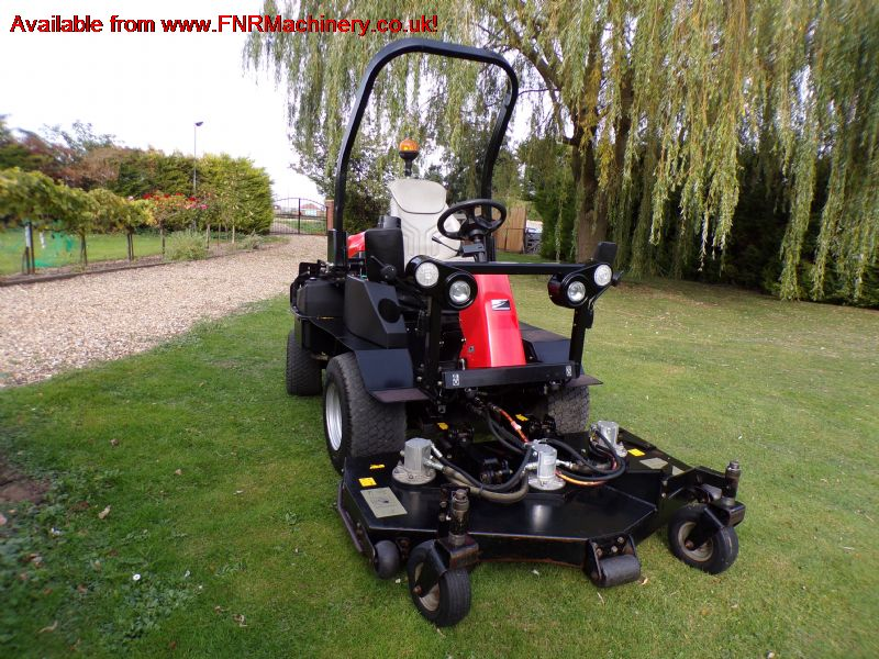 JACOBSEN HR3300T ROTARY MOWER 4X4 OUTFRONT RIDE ON