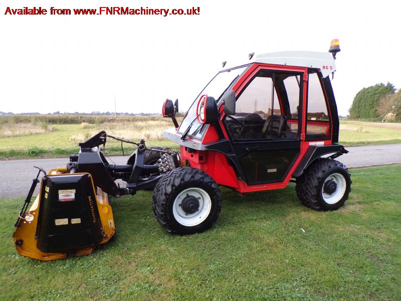 REFORM METRAC H6S BANK MOWER WITH MUTHING FLAIL