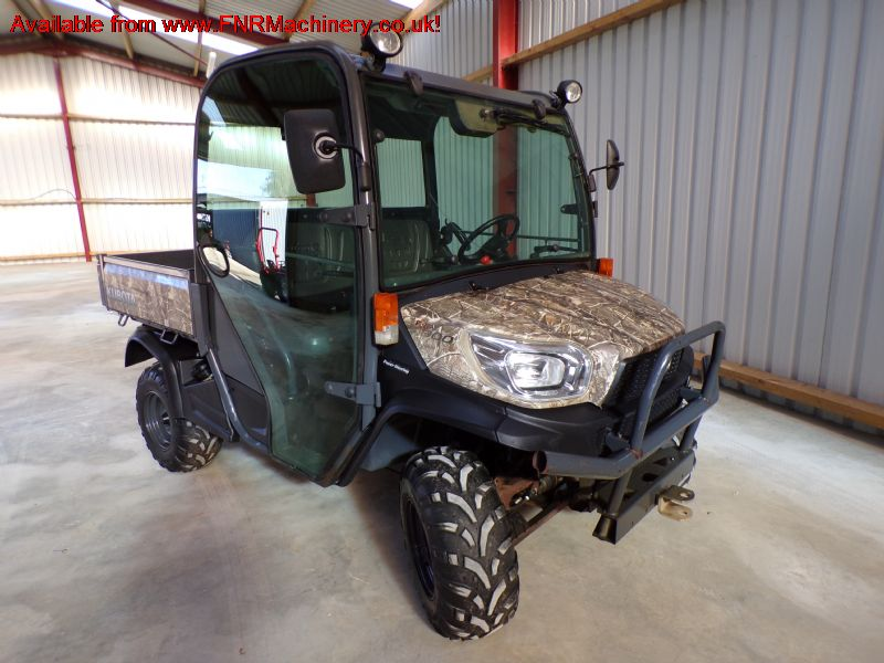SOLD!!! KUBOTA RTV X900 UTILITY VEHICLE 4X4 FULL C