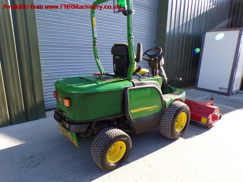 Sold John Deere 1545 Outfront Mower Trimax Flai For