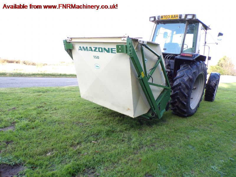 AMAZONE GROUNDKEEPER GHLT150 FLAIL MOWER S