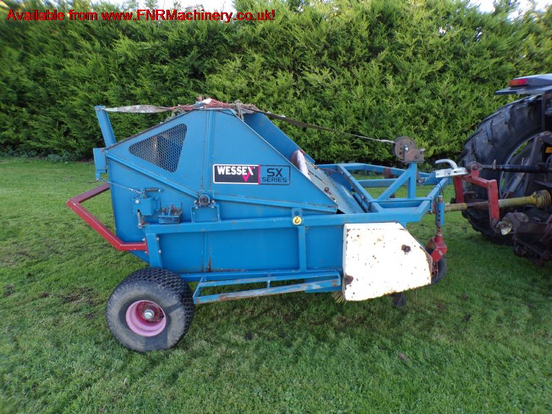 SOLD!!! WESSEX SX 180 SWEEPER COLLECTOR