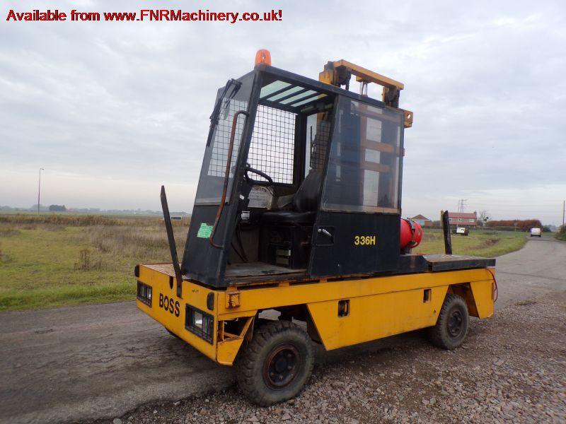 BOSS SIDE LOAD FORKLIFT 336H MK5 B1 TIMDER YARD WO