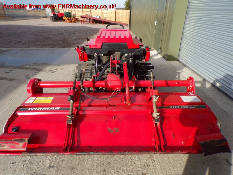 SOLD!!! YANMAR F18 COMPACT TRACTOR ON TRACKS
